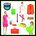 Neonové barvy dominují i dalším doplňkům